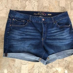 Faded glory plus size short size 18